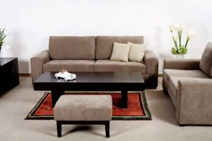 On site furniture upholstery